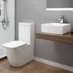 Toilet Suite - BTW Lyndon Rimless Flushing A3980