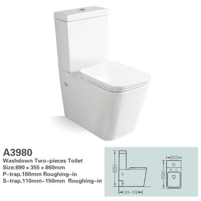 Toilet Suite - BTW Lydon A3980