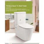 Toilet Suite - BTW Bella Rimless Flushing - A3904