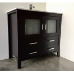 Vanity - Dekkor Series 1200 Black