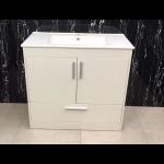 Vanity - Dekkor Series Plywood L700 Grain Wood White - 100% Water Proof
