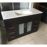 Vanity - Misty Series 1200F Black