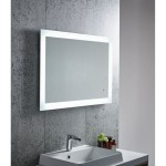 LED Mirror Frosted Edge Series 1200X800