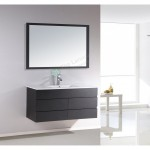 Vanity - Asron PVC Series 1200mm Black 100% Water Proof Single Or Double Basin