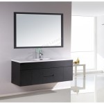 Vanity - Asron PVC Series 1500mm Black 100% Water Proof Single Or Double Basin
