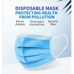 Medical Disposable 3 ply Surgical Face Mask for Surgical Supply With CE Mark BFE 99%