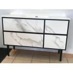 Vanity - Ava Series 1200mm - Black Marble Pattern