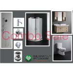 Bathroom Combo With 900mm Wall Hung Vanity - 100% Water Proof