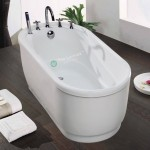 Freestanding Bath Melody Oval 1300mm