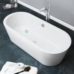 Freestanding Bath Royce Oval 1500mm