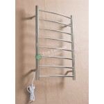 Heated Towel Rail Round 8 Bar ETW1B Right