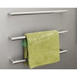 Heated Towel Rack YW-24Y Angle Round Left