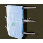 Heated Towel Tack YW-23Y Curved Round Left