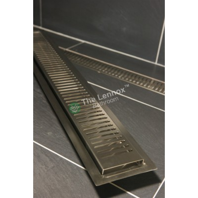 Shower Grate Stainless Steel 800mm