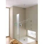 Shower Glass - Stream Series Side Panel (870X1900mm)