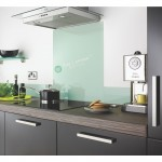 Glass Splash Back 900*750mm White