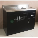 Sink Cabinet - Sepia 900 Black