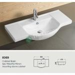 Ceramic Cabinet Basin - Round Series 900