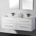Vanity - Misty Series 1200 White Double Basin