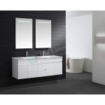 Vanity - Asron Series 1500mm White Double
