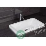 Ceramic Inset Vanity Counter Top Basin Sink 550mm