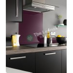 Glass Splash Back Boarder 120*1000mm Purple
