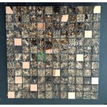 Glass And Carving Resin Mosaic Tile - Brown