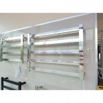 Heated Towel Rail 5 Bar Thick Square