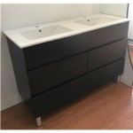 Vanity - Heron Series 1200F Double Black