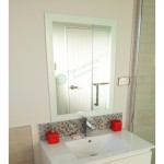 Mirror Frosted Edge Series 750X800
