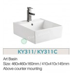 Counter Top Ceramic Basin KY311