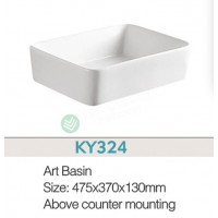 Counter Top Ceramic Basin KY324